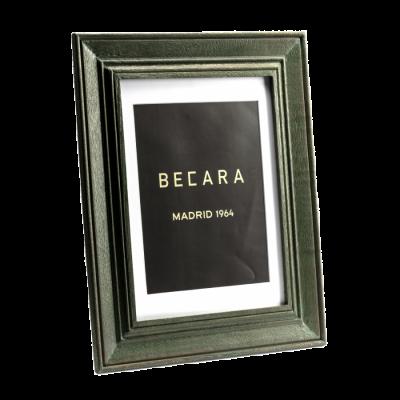 Marco de fotos verde - BECARA