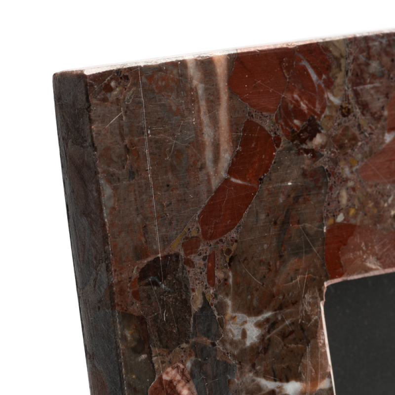 Red marble photoframe