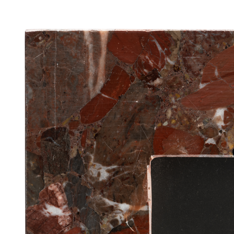 Marco de fotos de mármol rojo - BECARA