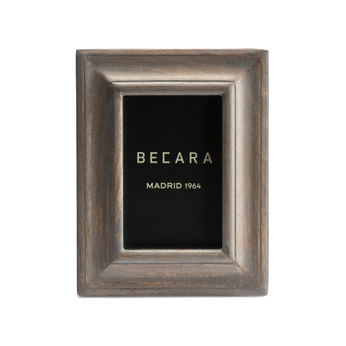 Marco de fotos de madera blanqueada - BECARA