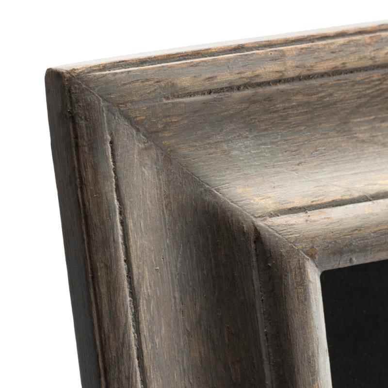 Marco de fotos madera blanqueada grande - BECARA