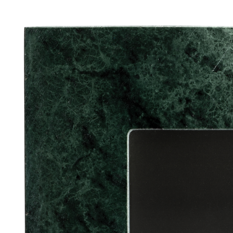 Green marble photoframe