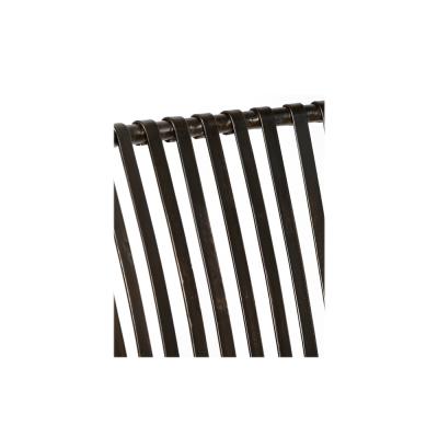 Silla hierro gris de tiras - BECARA