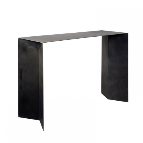Smooth console with triangle legs