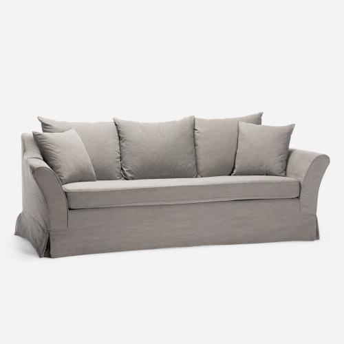 Emma gray sofa