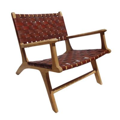 Varenna brown armchair
