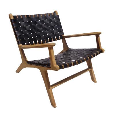 Varenna black armchair