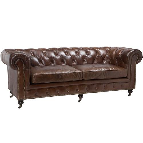 Jasper small padded sofa