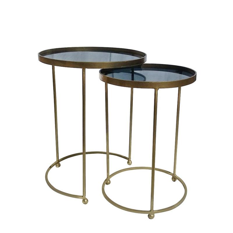 Set 2 mesas auxiliares Oswin - BECARA