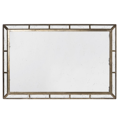 Garret big rectangular mirror