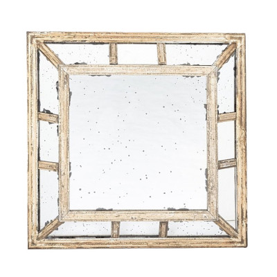 Garret small square mirror