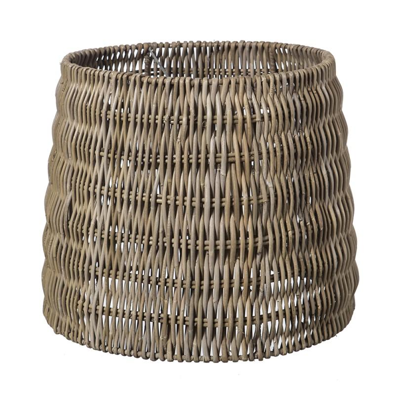 Pantalla de ratán cilíndrica - BECARA