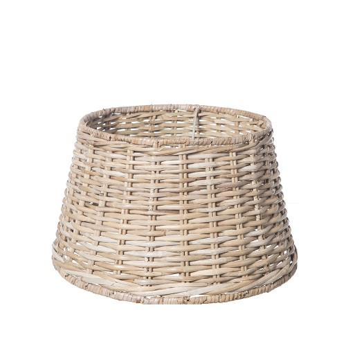 Rattan table lamp shade