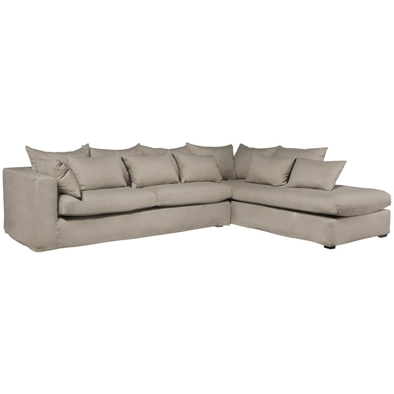 Madison sofa with left chaise longue