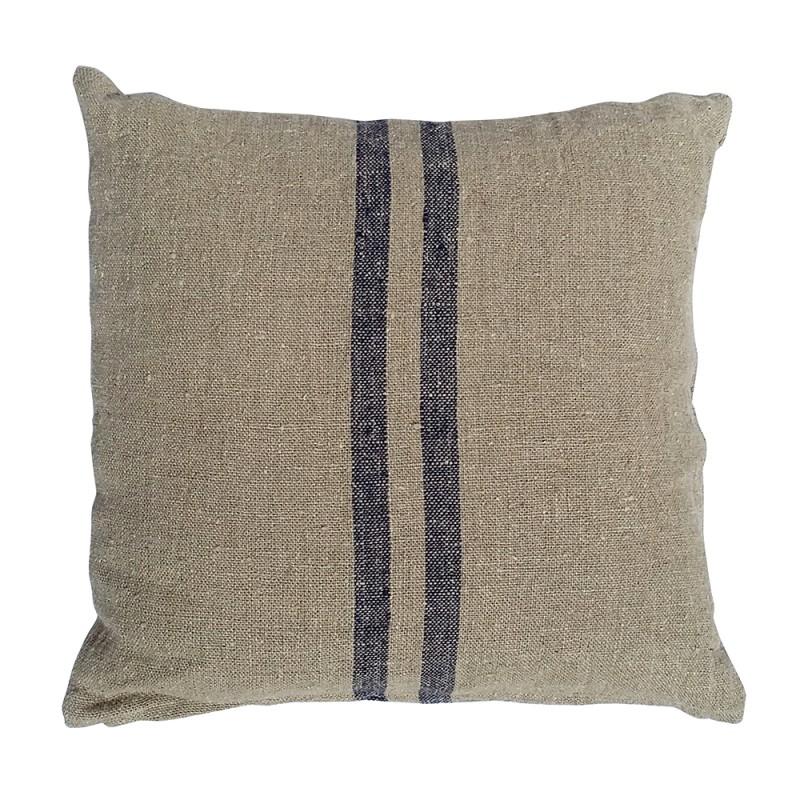 Benibeca square blue cushion