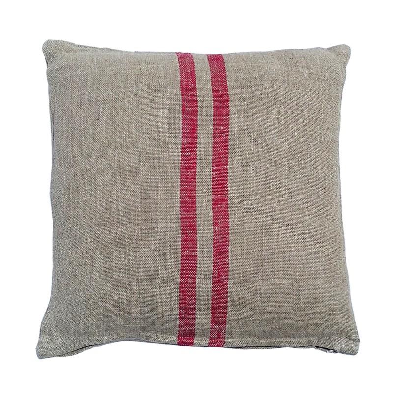 Benibeca square red cushion