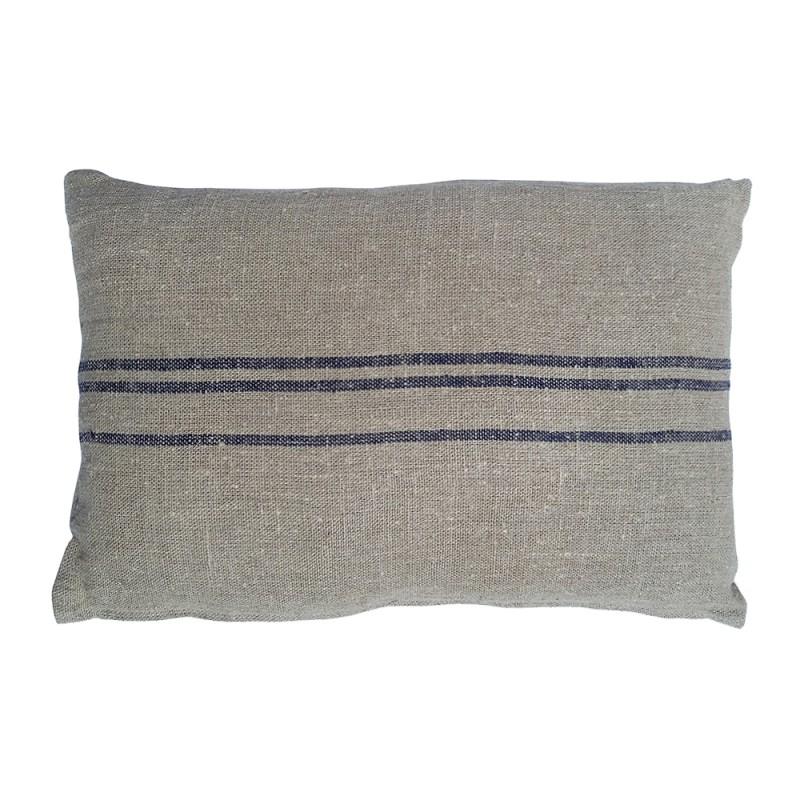 Rectangular blue Benibeca cushion