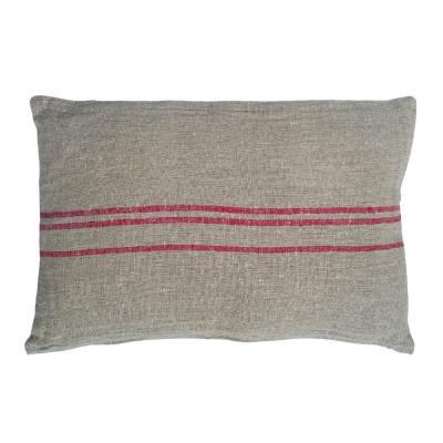 Cojín Benibeca rectangular rojo - BECARA
