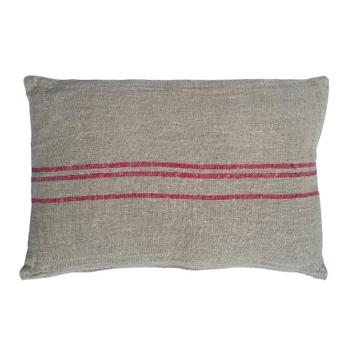 Rectangular red Benibeca cushion