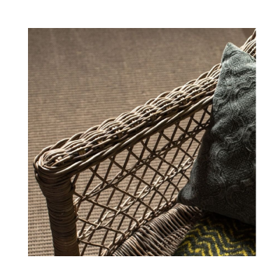 Cojín azulejo verde grande - BECARA
