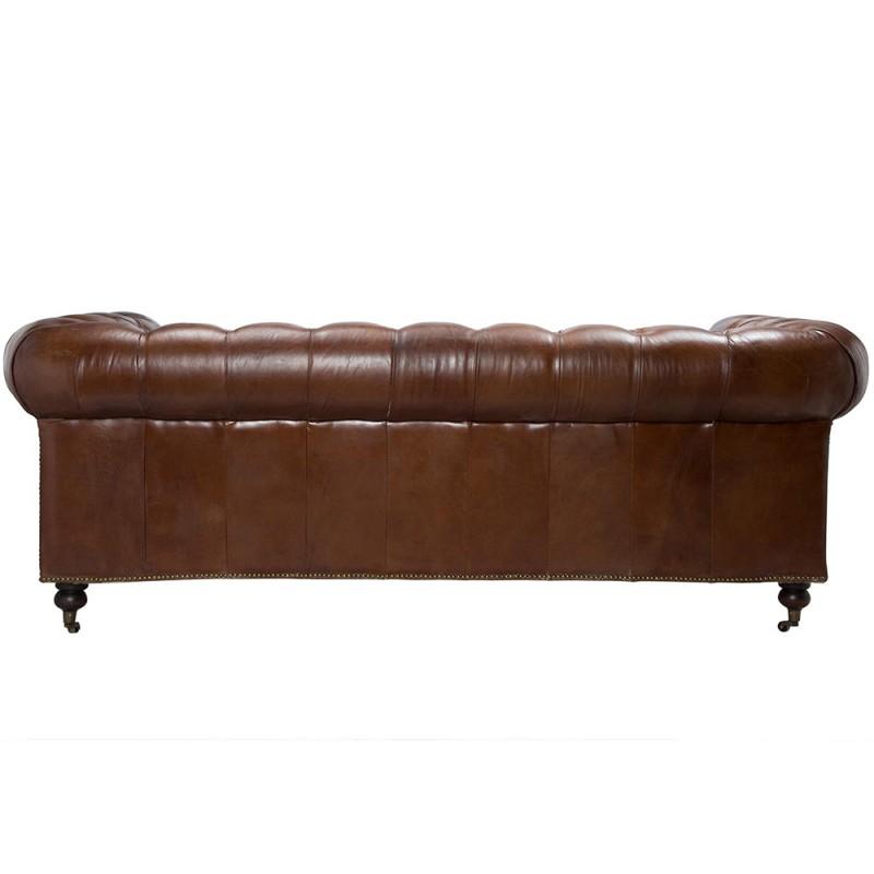 Jasper big padded sofa
