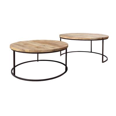 Set 2 mesas de centro Connor - BECARA