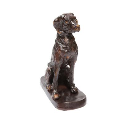 Bronze dog