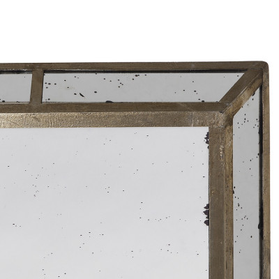 Garret big rectangular mirror