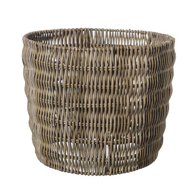 Rattan cylindrical shade