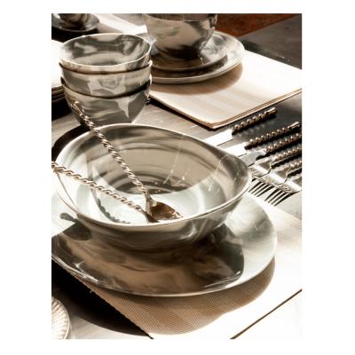 Set de servir ensalada con mango cordón - BECARA