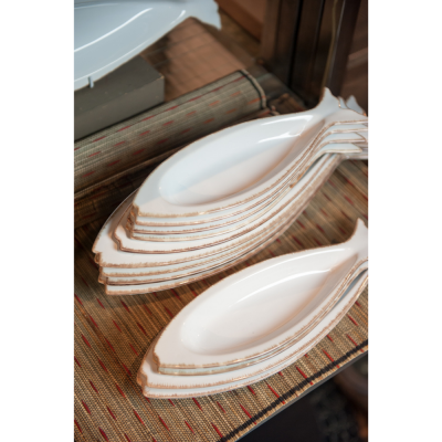 Medium ceramic fish platter