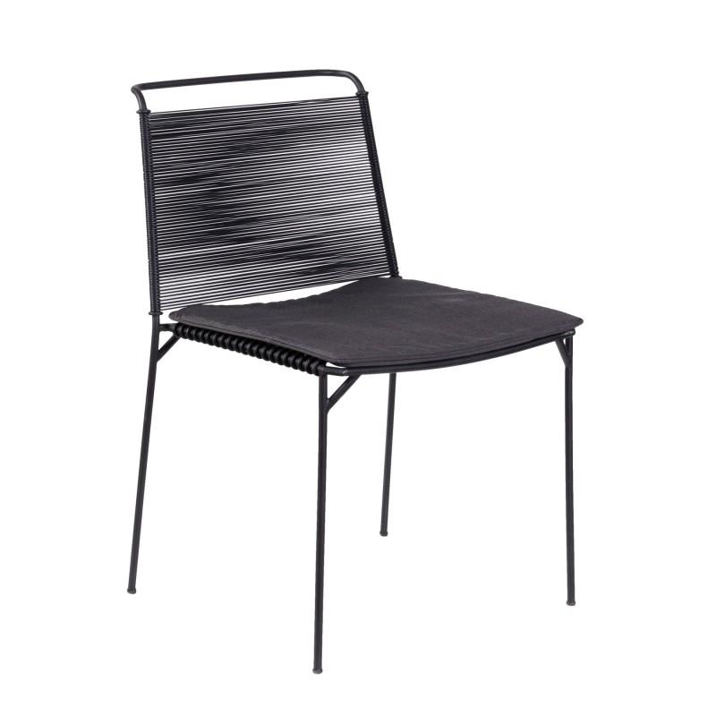 Iron threads chair