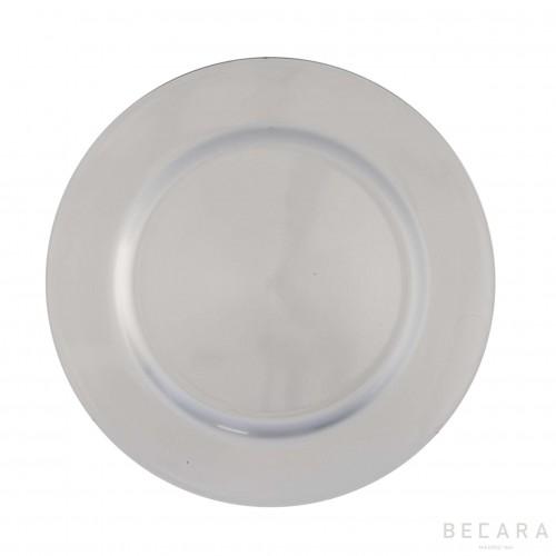 Silver bottom plate
