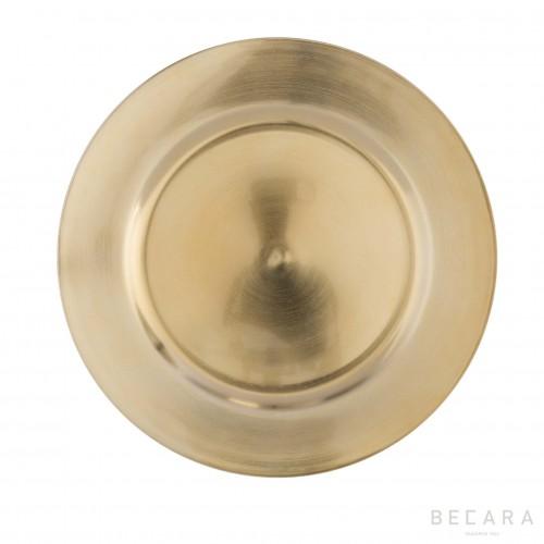Golden bottom plate