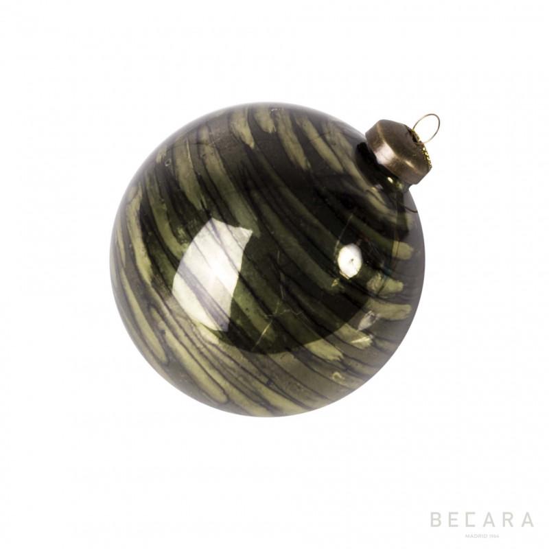 Bola de Navidad verde - BECARA