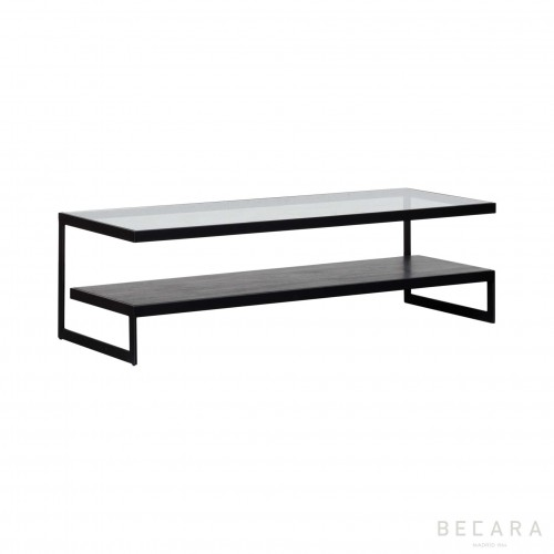Ohio Emery black coffee table