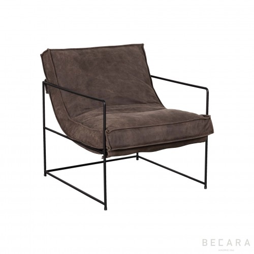 Africa brown armchair