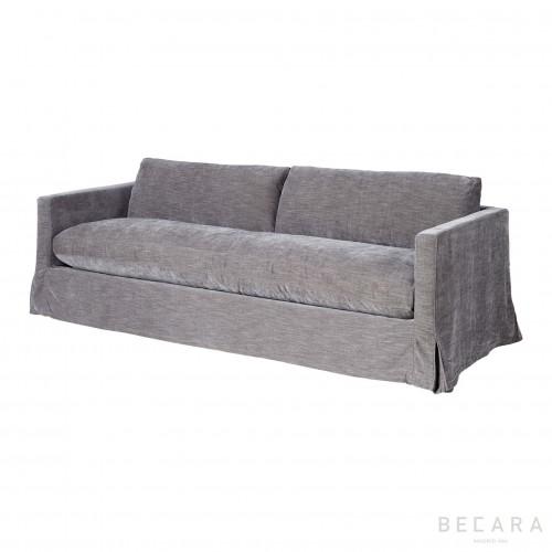 Sofá Paul gris - BECARA
