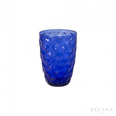 Vaso bajo Ice azul - BECARA