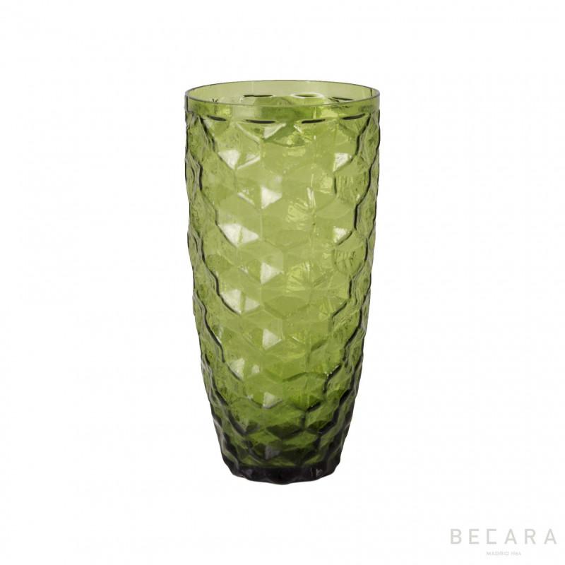 Vaso Ice verde alto - BECARA
