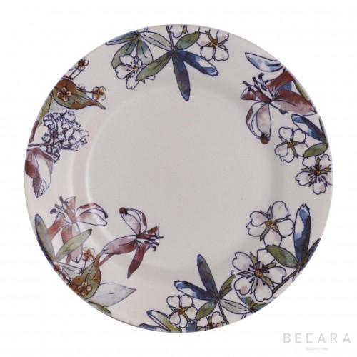 Fontenebleau shallow plate