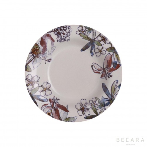 Fontenebleau soup plate