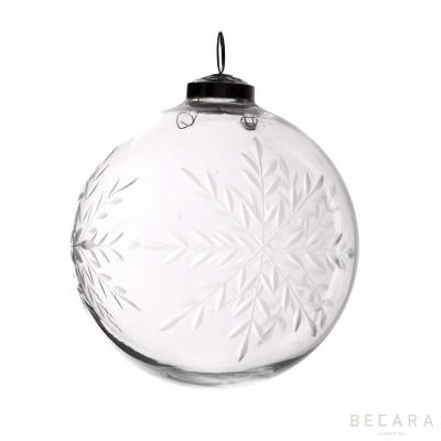 Large Christmas flake ornament