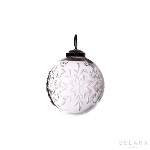 Small Christmas flake ornament