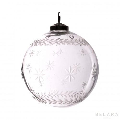 Bola de Navidad estrella grande - BECARA