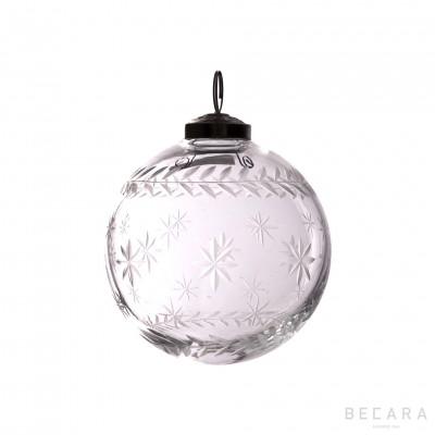 Bola de Navidad estrella mediano - BECARA
