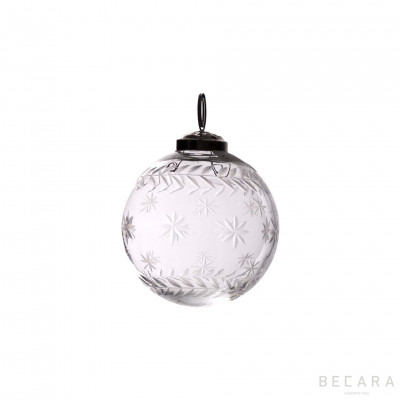 Bola de Navidad estrella pequeño - BECARA