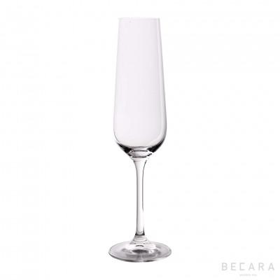 Bohemia champagne glass