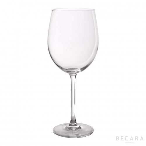 Transparent water glass