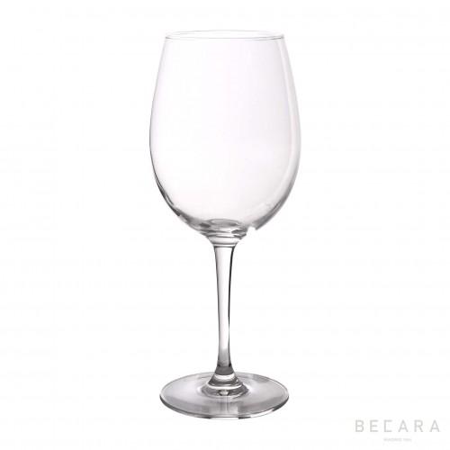 Copa de vino transparente - BECARA